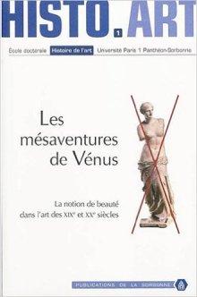Les mesaventures de Venus - Publications de la Sorbonne