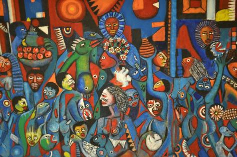 Valente N. Malangatana - Jeunesse et Paix (1997)